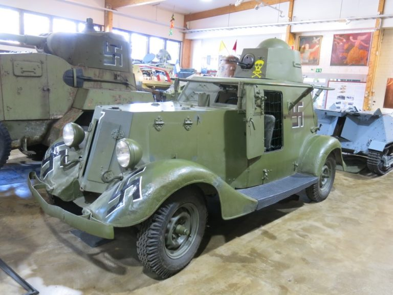 Päivän museoauto: Panssariauto BA-20M