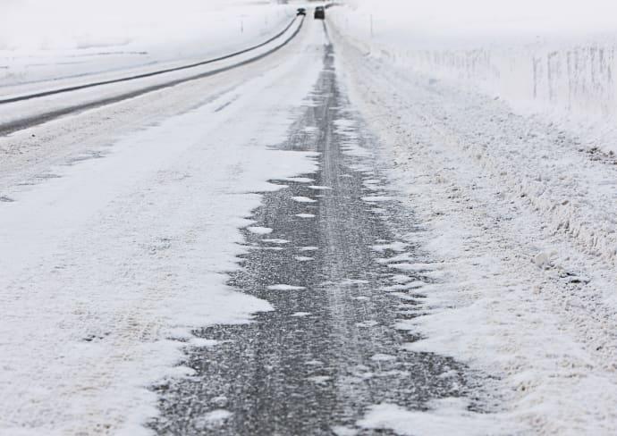 Peräti 42 prosenttia suomalaisista on joskus joutunut liikenneonnettomuuteen talvella