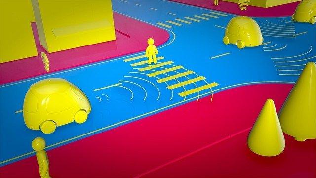 Roboauton autokoulussa opetetaan pelkoa