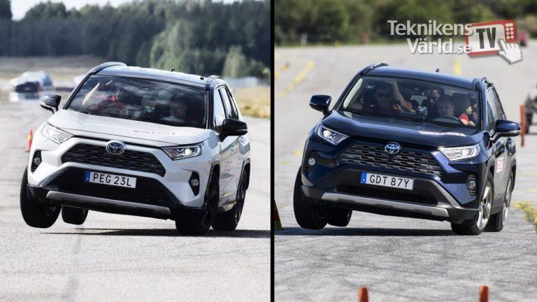 Teknikens Värld -lehden hirvenväistökokeessa epäonnistunut Toyota RAV4 saa päivityksen ajonhallintajärjestelmäänsä