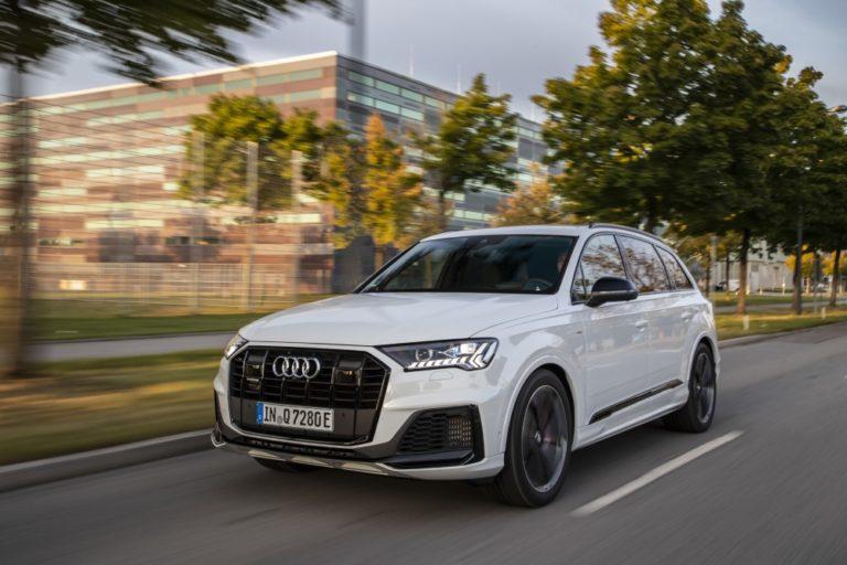 Pistokehybridin Audi Q7 TFSI e quattro -mallin myynti on alkanut