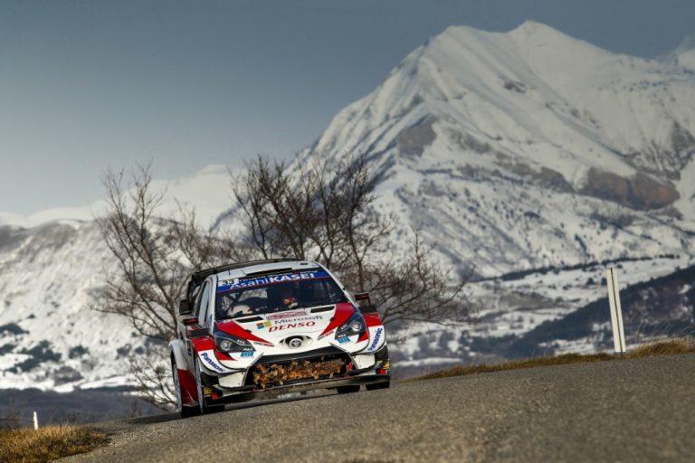 WRC: Tänak ajoi ulos, Evans nousi kärkeen