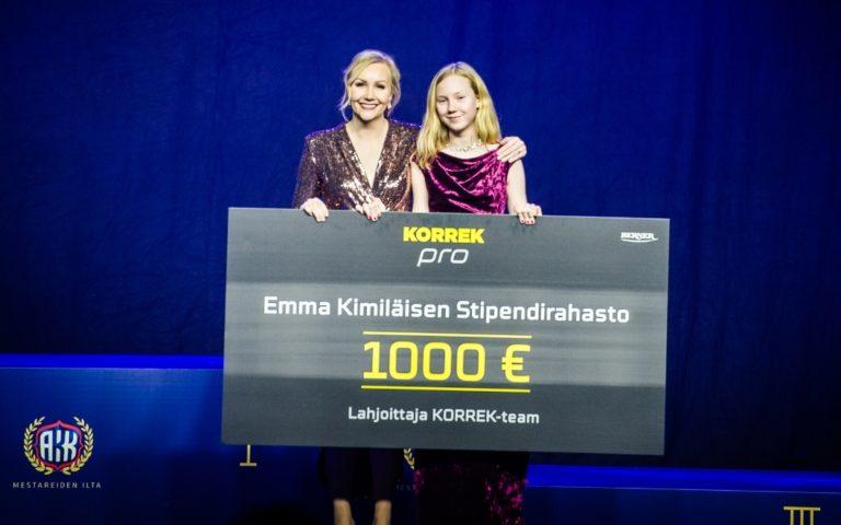 Karting-lupaus Meri Levula palkittiin merkittävällä stipendillä