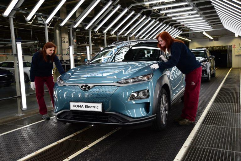 Hyundai Kona Electricin tuotantoa kasvatetaan — toimitusajat lyhenevät