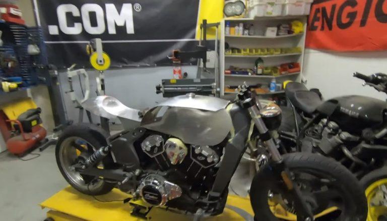 Moottoripyörämessuilla voi hyväntekeväisyysarvonnassa voittaa 35 000 euron ainutlaatuisen moottoripyörän