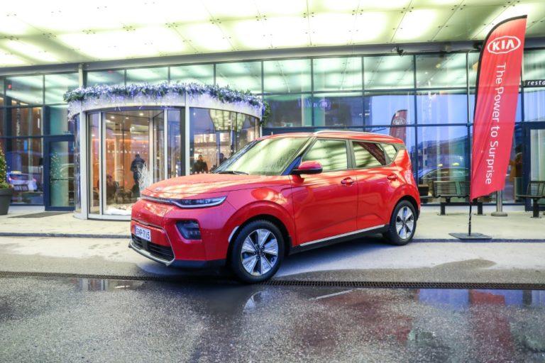 Kia-autojen saatavuus Suomessa hyvä