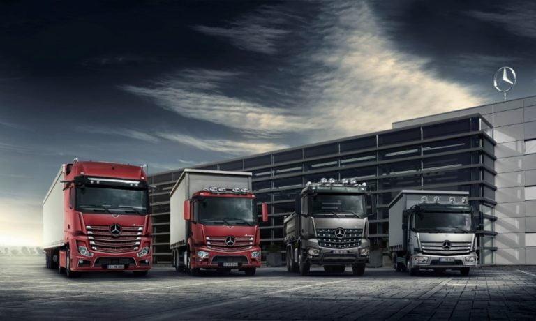 Mercedes-Benzillä 44 prosentin markkinaosuus 6–16-tonnisissa kuorma-autoissa