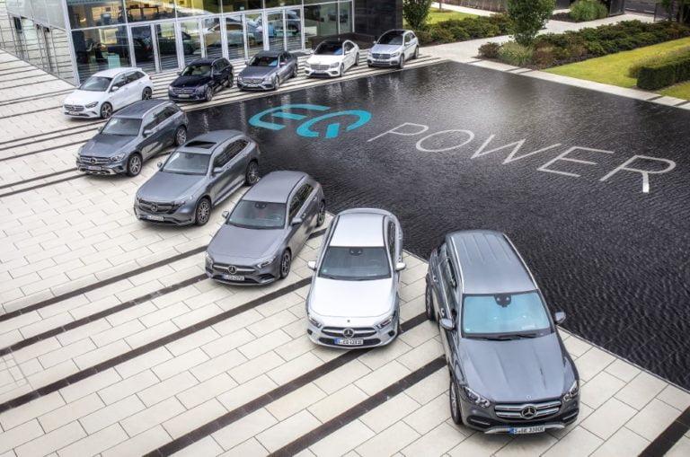 Daimler myi viime vuonna yli 3,3 miljoonaa ajoneuvoa