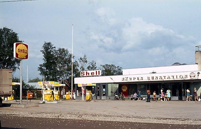 Päivän huoltoasema: Närpiön linja-autoaseman Shell