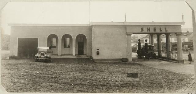 Päivän huoltoasema: Tampereen Itäinen Kaukolinja-asema 1920-luvulla