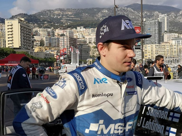 WRC: Tänak nousi aamupäivän aikana Sunisen kantaan