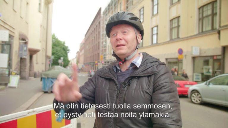 Autoilija voi nyt hakea talvisähköpyöräilyn ihmiskokeeseen