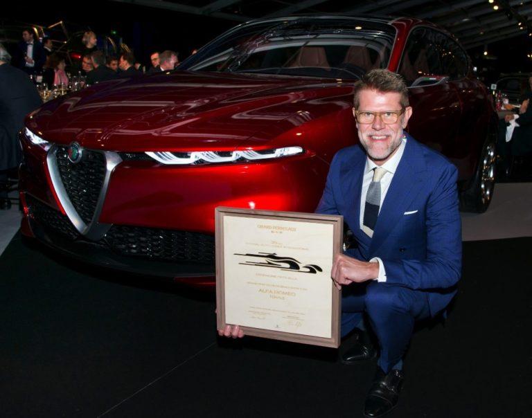 Alfa Romeo Tonale -konsepti valittiin kauneimmaksi näyttelyautoksi