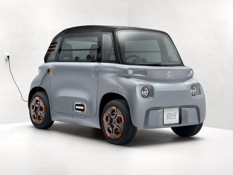 Citroën tuo markkinoille pienen sähkökulkupelin, Citroën Amin