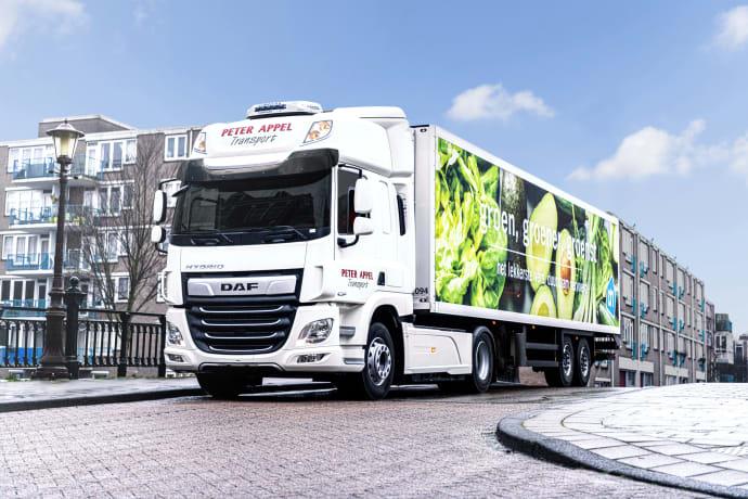 DAF aloittaa kenttätestit CF Hybrid -kuorma-autolla