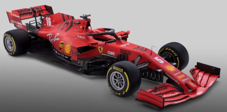 F1: Tältä näyttää tämän vuoden Ferrari