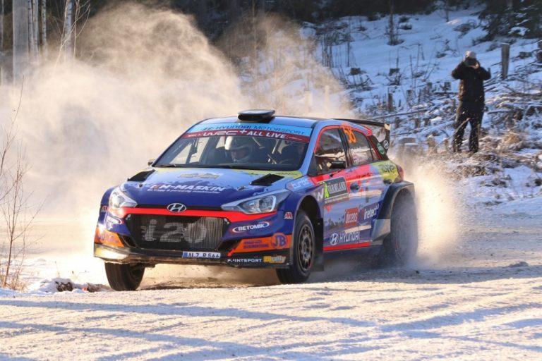 WRC: Suomeen kaksoisvoitto WRC3-luokassa — Huttunen voitti, Lindholm kakkonen