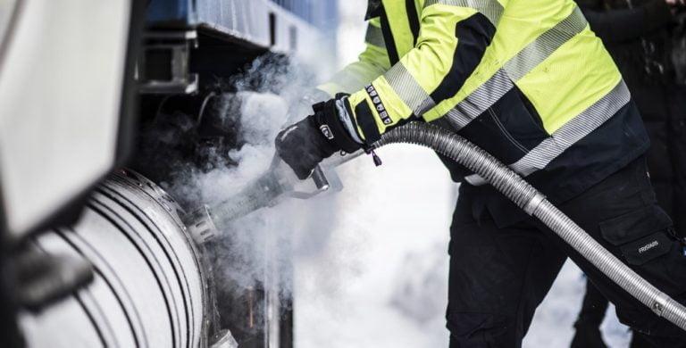 Valtiolta rahallista tukea kaasukäyttöisten kuorma-autojen hankintaan