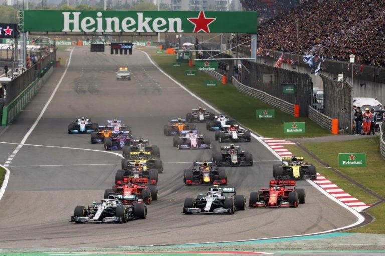 F1: Kiinan GP ei ajeta huhtikuussa koronaviruksen takia