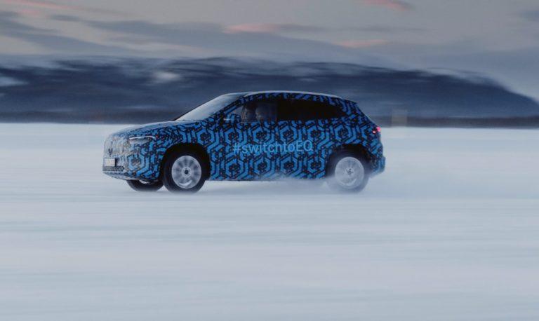 Täyssähköinen Mercedes-Benz EQA esitellään tämän vuoden puolella