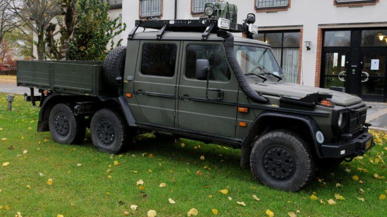 """Ruotsin ilmavoimien vaaralliset """"Dallas-jeepit"""" korvaantuvat Mersun G-malleilla"""