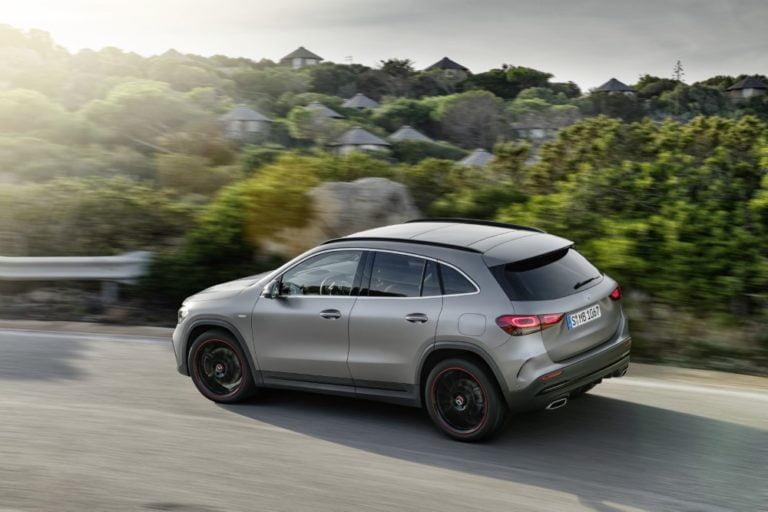 Uusi Mercedes-Benz GLA tulee Suomeen toisen vuosineljänneksen aikana