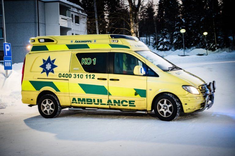 Tämä ambulanssi on kulkenut jo reilusti toista miljoonaa kilometriä