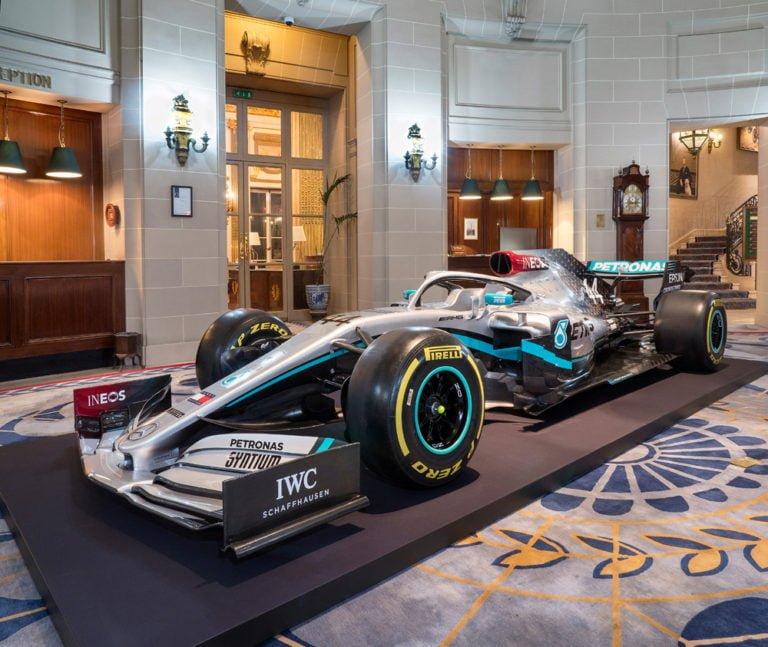 F1: Tältä näyttää Bottaksen ja Hamiltonin tämän kauden auto