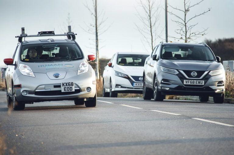 Britanniassa itseohjautuva auto ajoi 368 kilometrin reitin