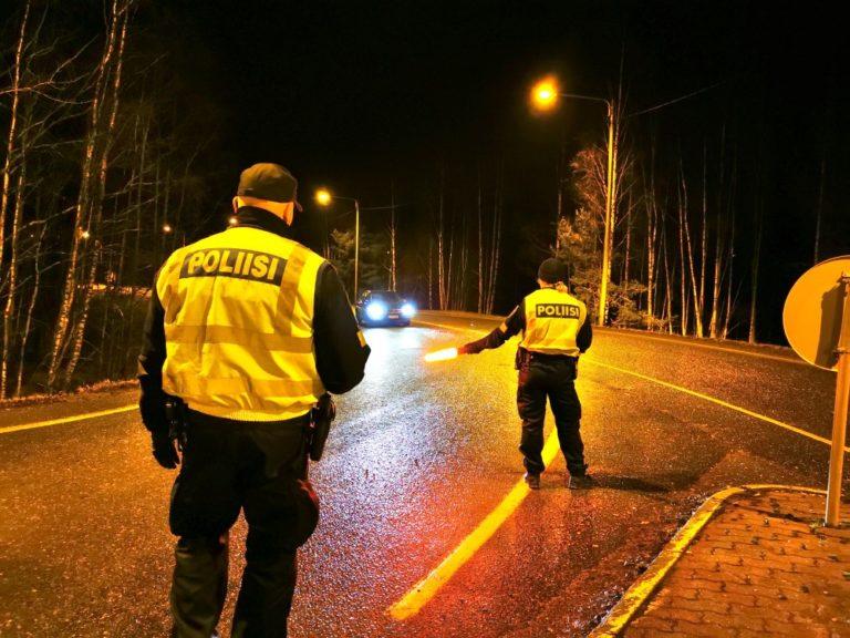 24 kuljettajaa menetti viikonloppuna korttinsa Joensuun alueella