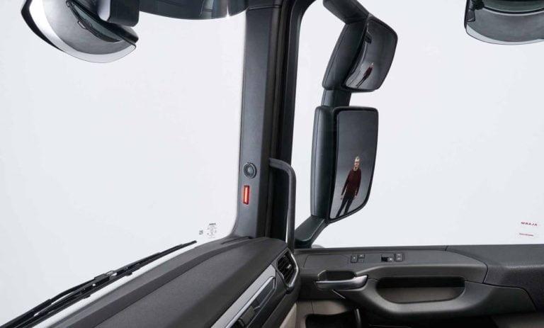 Scania esittelee uuden sivutunnistustoiminnon