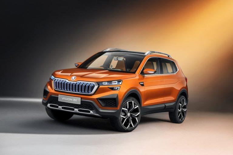 Škoda esittelee Vision IN -konseptiautomallinsa Intiassa