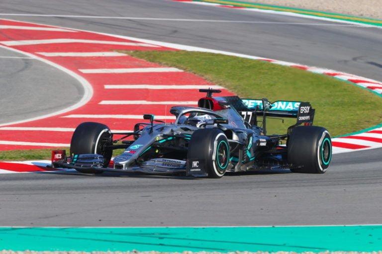 F1: Bottas oli päivän nopein Barcelonan testeissä