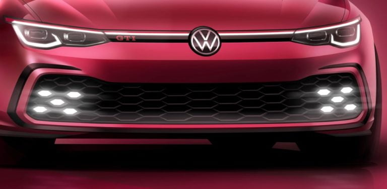 Tältä näyttää uuden Golf GTI-mallin keula