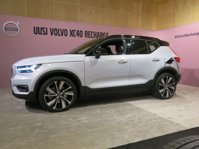 Erikoinen ratkaisu: Volvon sähköautoihin ympärivuotiseen käyttöön tarkoitetut renkaat