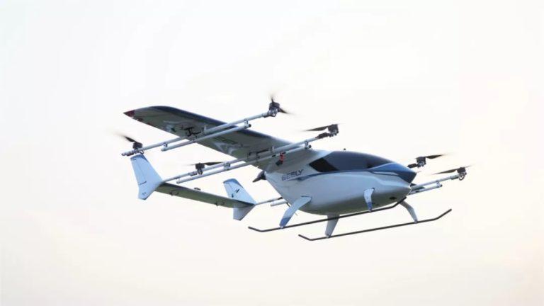 Volvon omistaja, kiinalainen Geely kehittää sähköisiä pieniä lentokoneita