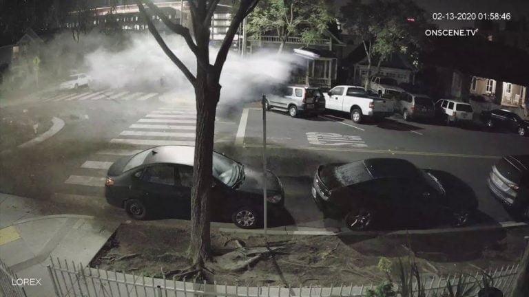 Video: BMW M4 Coupé käytti kiertoliittymää hyppyrinä!