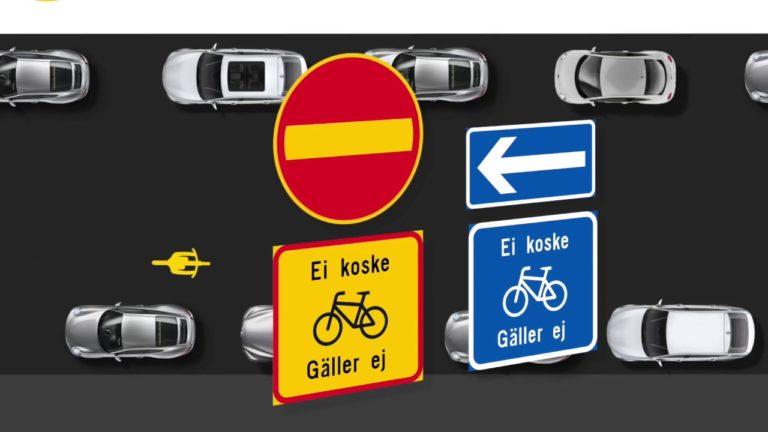"""Kesäkuun alun jälkeen pyöräilijä voi tulla """"väärästä suunnasta"""" yksisuuntaisella kadulla"""
