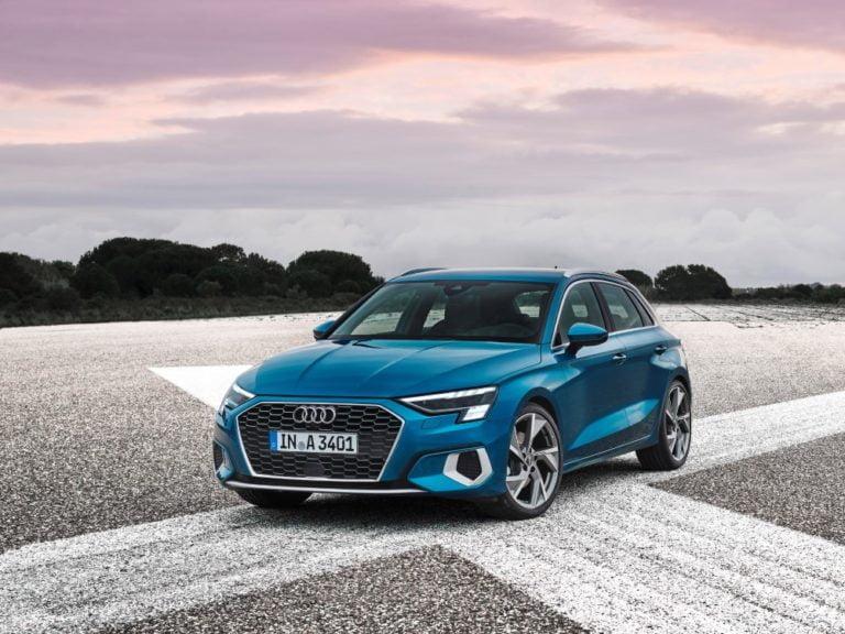 Neljännen sukupolven Audi A3 Sportback tulee kesällä Suomeen