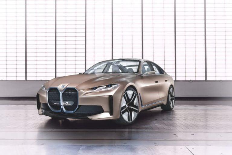 BMW:n sähköautoihin uudenlaista muotoilua — ensimmäinen esimerkki Concept i4 Gran Coupe