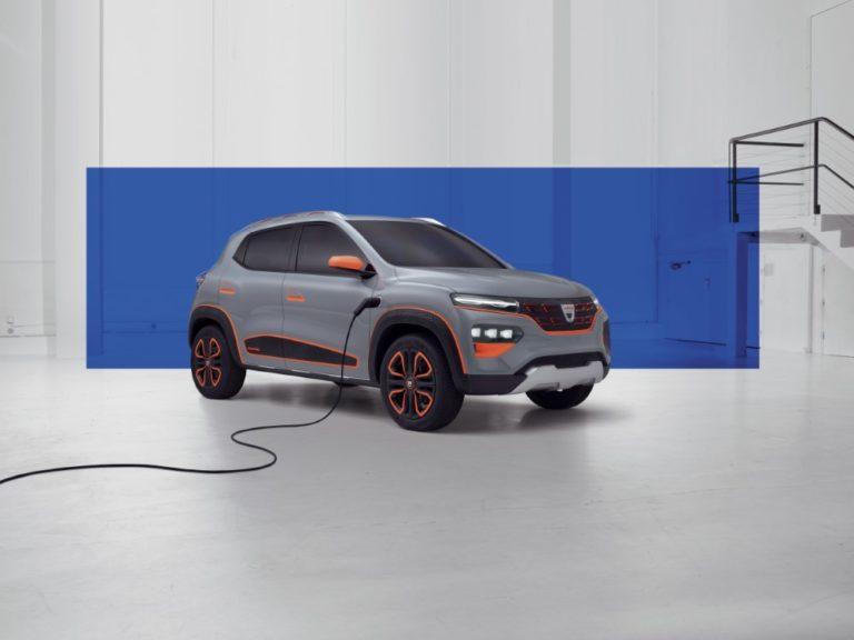 Tältä näyttää Dacian ensimmäisen sähköauton konsepti