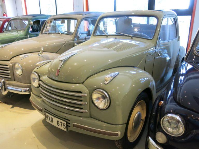 Päivän museoauto: Fiat 500 Topolino 1954
