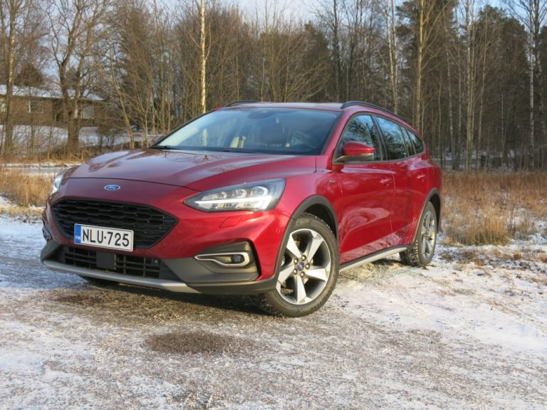 Autotoday tutustui: Ford Focus Wagon Active — hieman korkeampi Focus