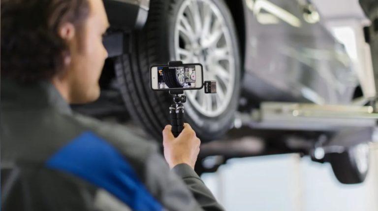 Ford varmistaa, että huollossa käyvä auto ei levitä koronavirusta