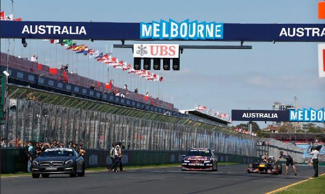F1: Australian kisa peruttiin loppujen lopuksi