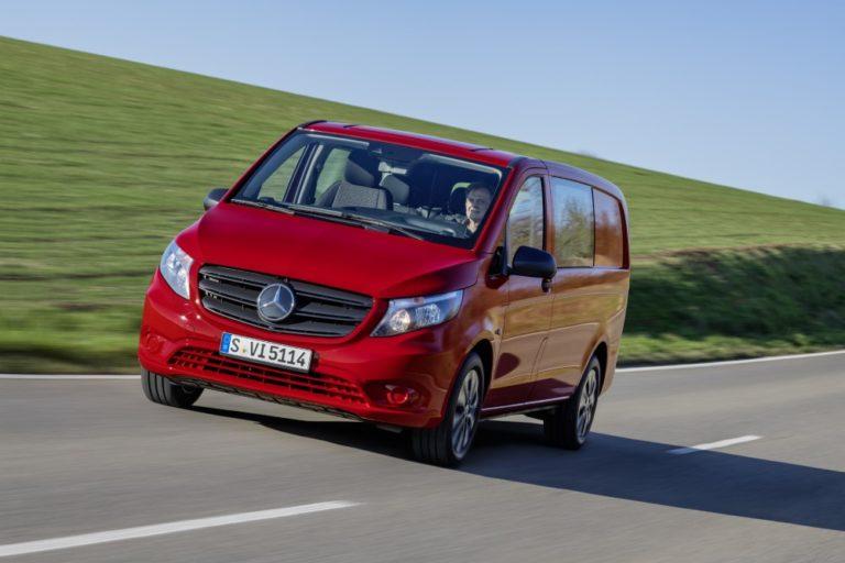 Mercedes-Benz Vito uudistuu — Suomeen kesän jälkeen