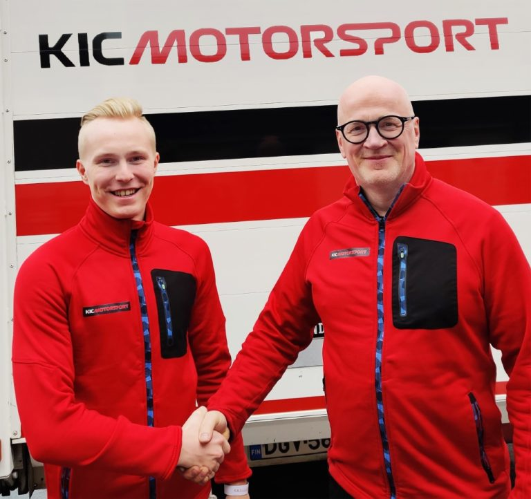 Patrik Pasma ja Konsta Lappalainen KIC Motorsportin F3-tiimiin