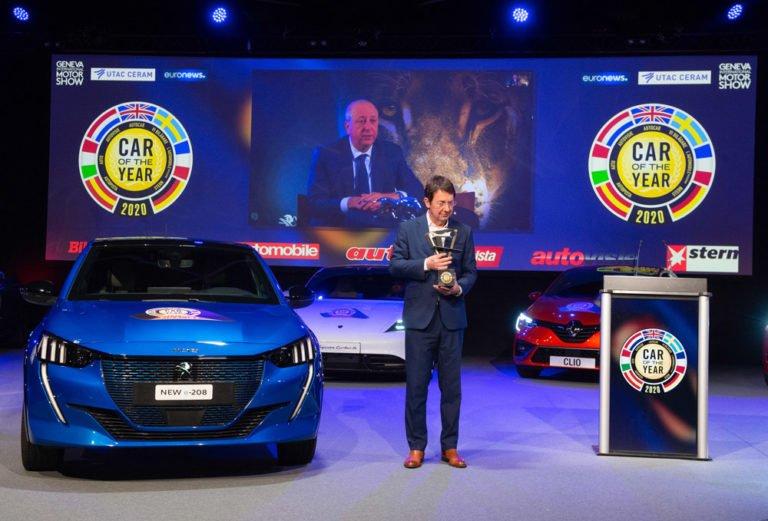 Car of the Year 2020: Peugeot 208 sai mukaan palkintopallille kaksi sähköautoa