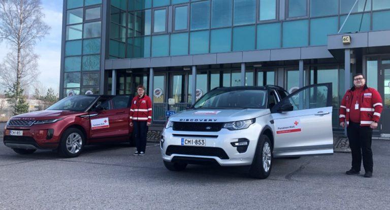 Punaiselle Ristille kaksi autoa kuukaudeksi ruoka-jakelua varten