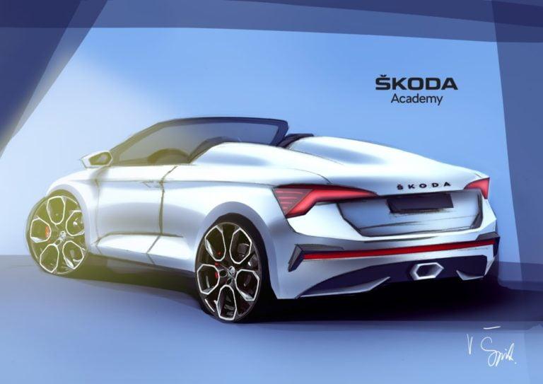 Tästä esimakua seitsemännen Škoda Student Car -konseptiauton ulkonäöstä